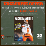 Baker Mayfield book offer