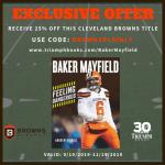 Baker Mayfield book offer