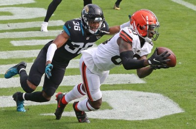 Browns Cruising, But Face Tough Road Ahead